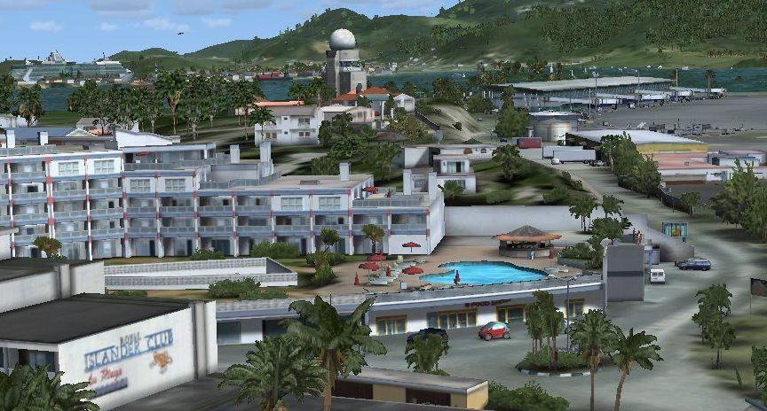 fs-telechargement: St Maarten Airport FSX