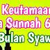 Keutamaan Puasa Sunnah 6 Hari di Bulan Syawwal