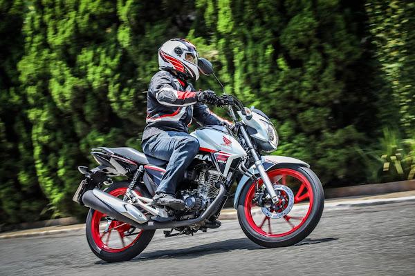 As motos mais vendidas do Brasil em fevereiro de 2021