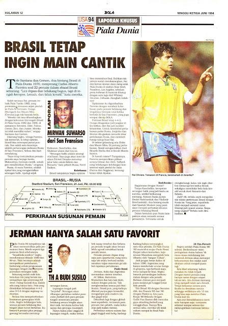 BOLA Laporan Khusus Piala Dunia 1994