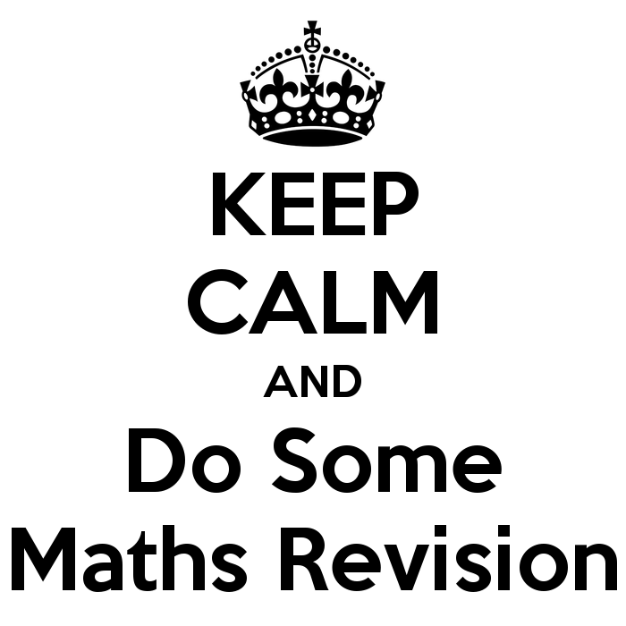 Suggested Math Topics to Revise During the Holiday. For