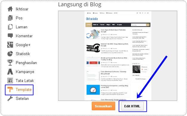 Cara Menghapus Atribusi / Powered By Blogger Di Blog