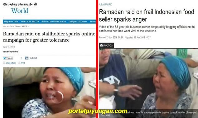 Innalillahi, Gara-gara Kasus Ibu Saeni, Umat Islam Indonesia Jadi Sasaran Fitnah Media Internasional