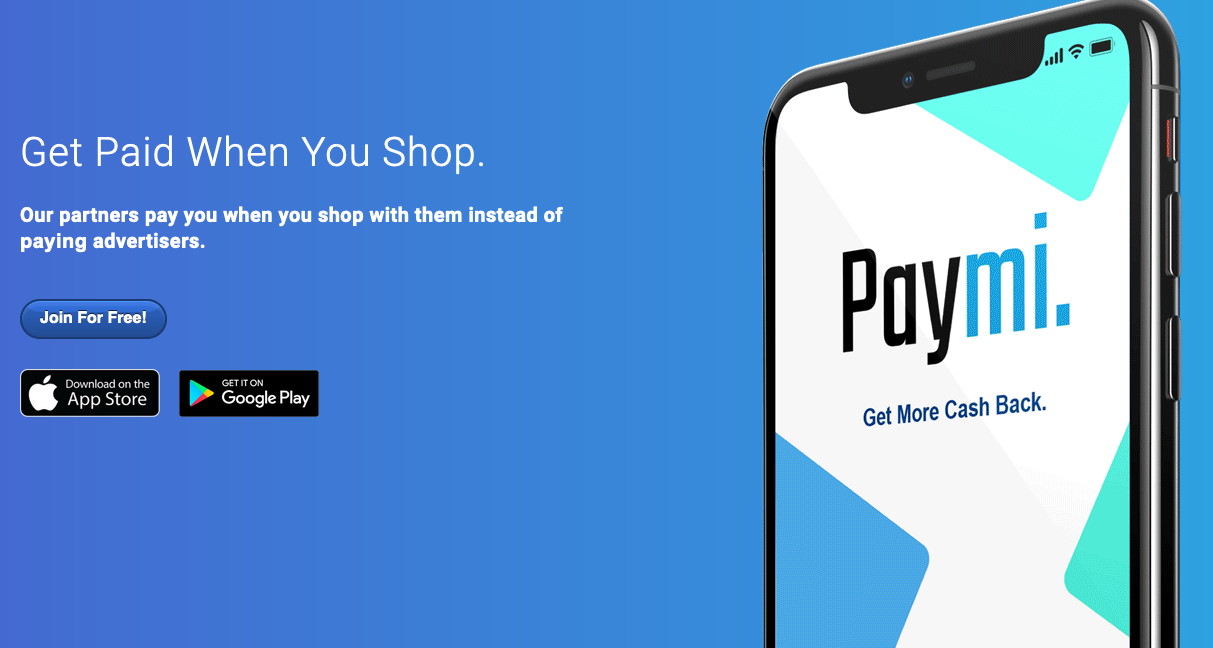 Paymi Review - Get cash back for shopping at retailers with any of your regular credit cards