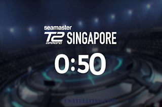 ITTF Seamaster T2 Diamond Singapore AsiaSat 5 Biss Key 24 November 2019