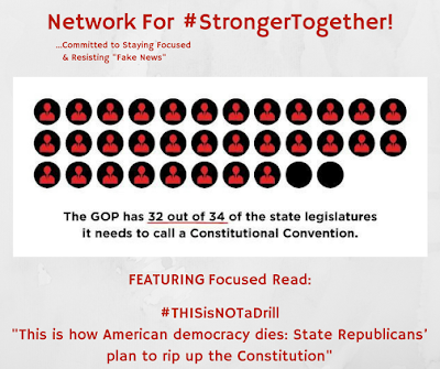 "#StrongerTogether ! ""This is how American democracy dies: Republicans' plan to rip up the Constitution"" &, BTW, it is closer than you think!"