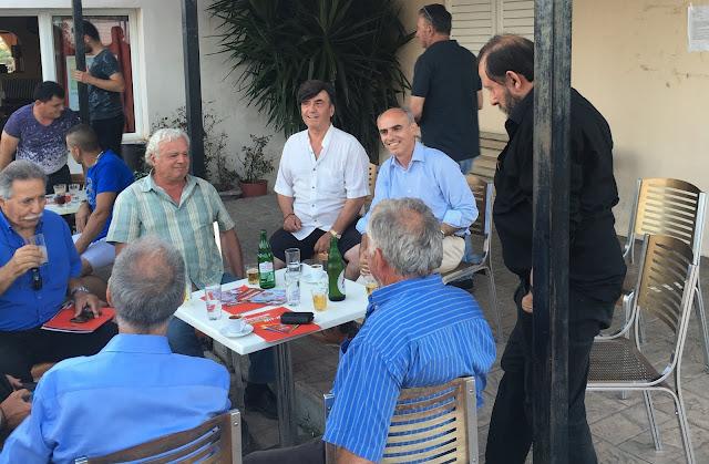 Ο Γιώργος Γαβρήλος συνεχίζει τις επισκέψεις του σε Ναυπλία, Επιδαυρία και Ερμιονίδα