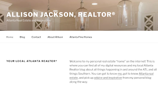 Allison Jackson Homes, Atlanta Real Estate and Inspiration