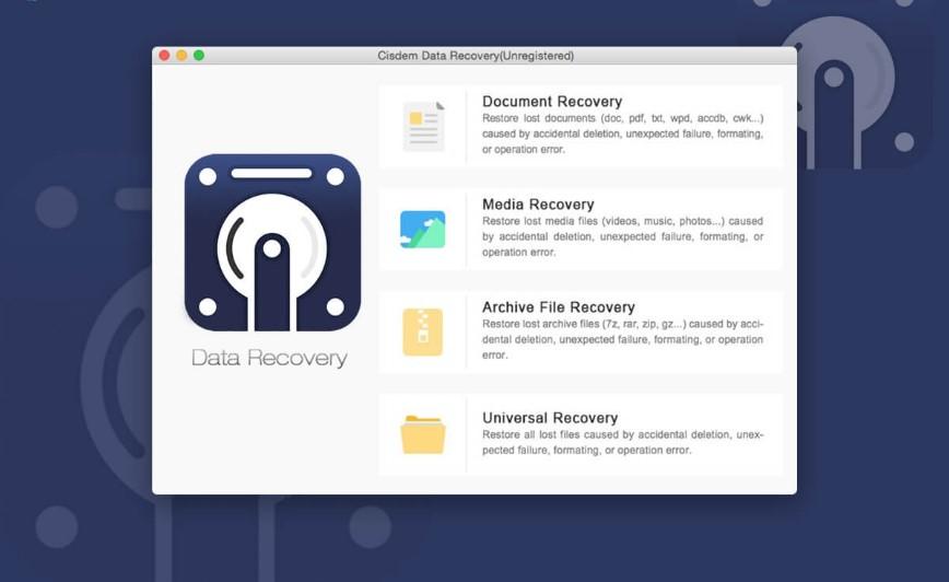 مراجعة سريعة ومفصلة لبرنامج Cisdem Data Recover لنظام التشغيل Mac