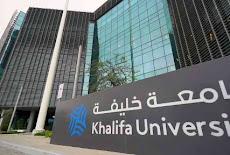 جامعة خليفة في أبوظبي تعلن عبر الموقع الرسمي لديها عن توفر فرص وظيفية