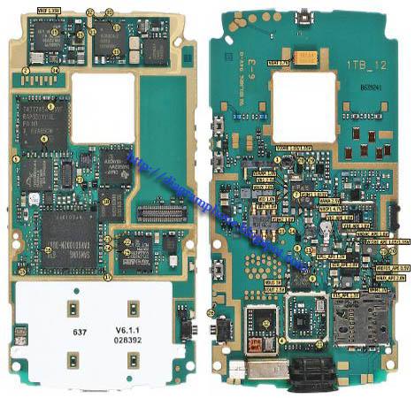 Nokia N95 Schematic Diagram  Phone Diagram