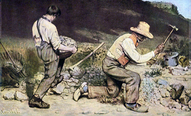 The Stone Breakers, Guatave Courbet/The Stone Breakers, (1949), Gustave Courbet