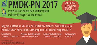 berkas PMDK-PN 2017, tatacara PMDK-PN 2017, alur PMDK-PN 2017, bidikmisi PMDK-PN 2017, persyaratan PMDK-PN 2017