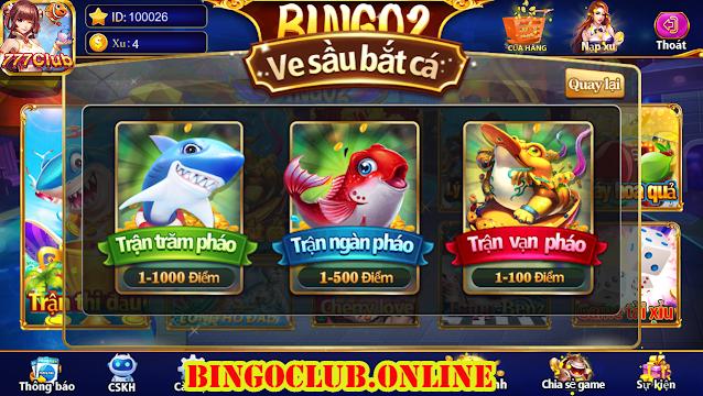 BINGO2 với trò chơi Ve sầu bắt cá