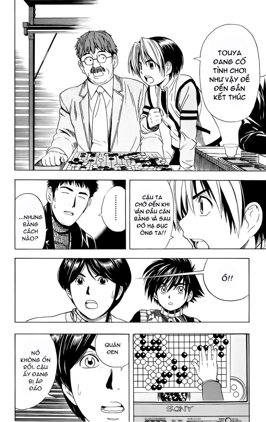 Hikaru No Go hikaru no go chap 50 trang 9