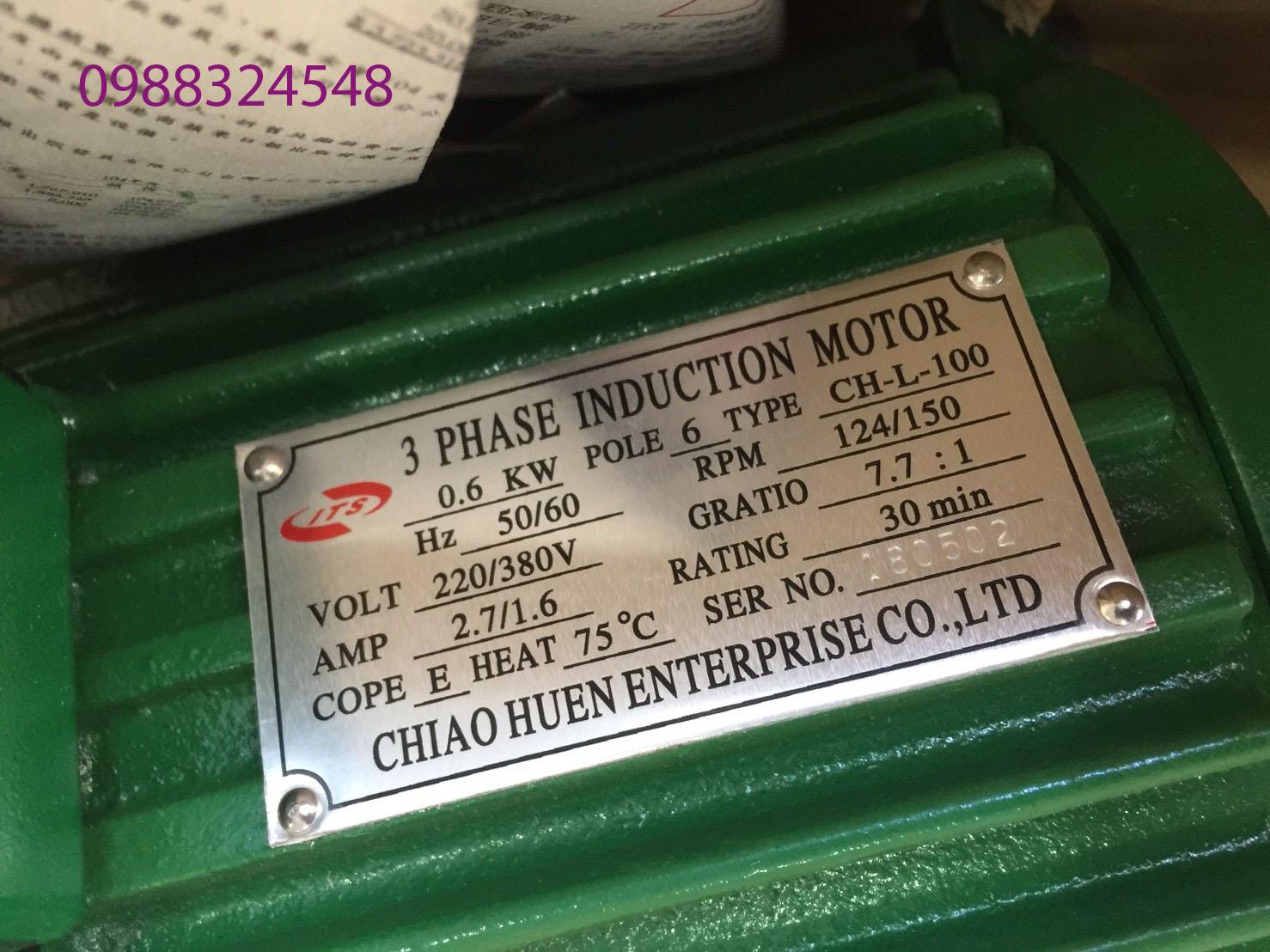 Motor dầm biên ITS CH-L-100 0.6 Kw