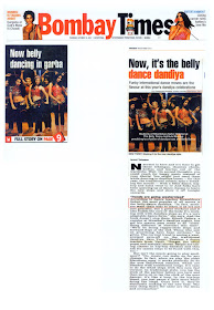 Belly Dance Institute Mumbai by Ritambhara Sahni