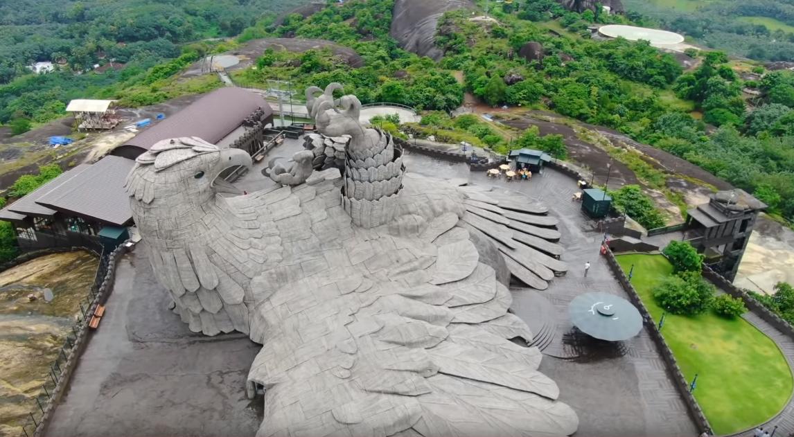 Jatayu Statue-Best Tourist Place