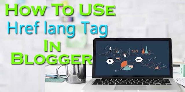 href Lang Tag, Href lang tag blogger, Blogger, How to use href Lang tag in blogger, href lang tag kaise istamal kare, Blogger me href lang tag kaise use kare,