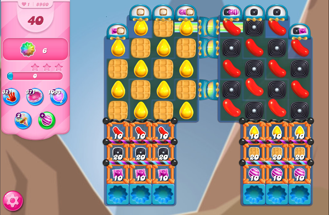 Candy Crush Saga level 8960