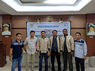 IKA FKIP Unismuh Makassar Komisariat Kab. Gowa, Menggelar Rapat Kerja (Raker) di Aula LPPPTK KPTK, Jalan Diklat No 30, Patallassang, Sabtu, 30 November 2019.