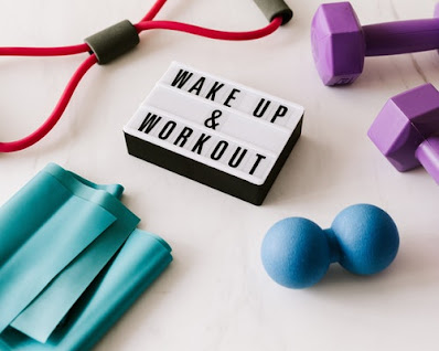 Wake up early and start workout ! stay fit