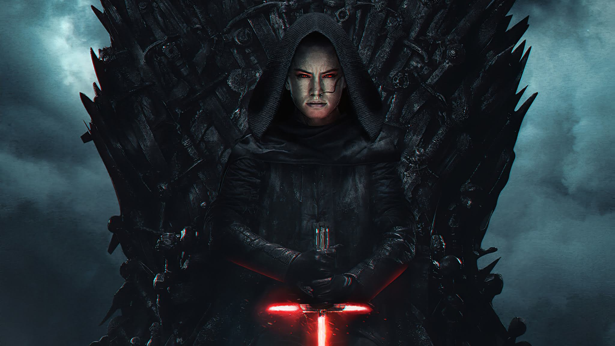 Wallpaper 4k Dark Rey Starwars