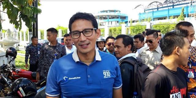 Sandi Tanggapi Kritik Mega ke Prabowo: Diingatkan Senior Tentu Kita Terimakasih