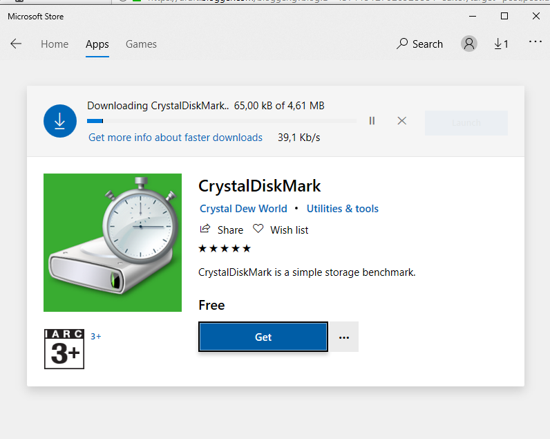 CARA INSTALL CRYSTAL DISK MARK DI WINDOWS