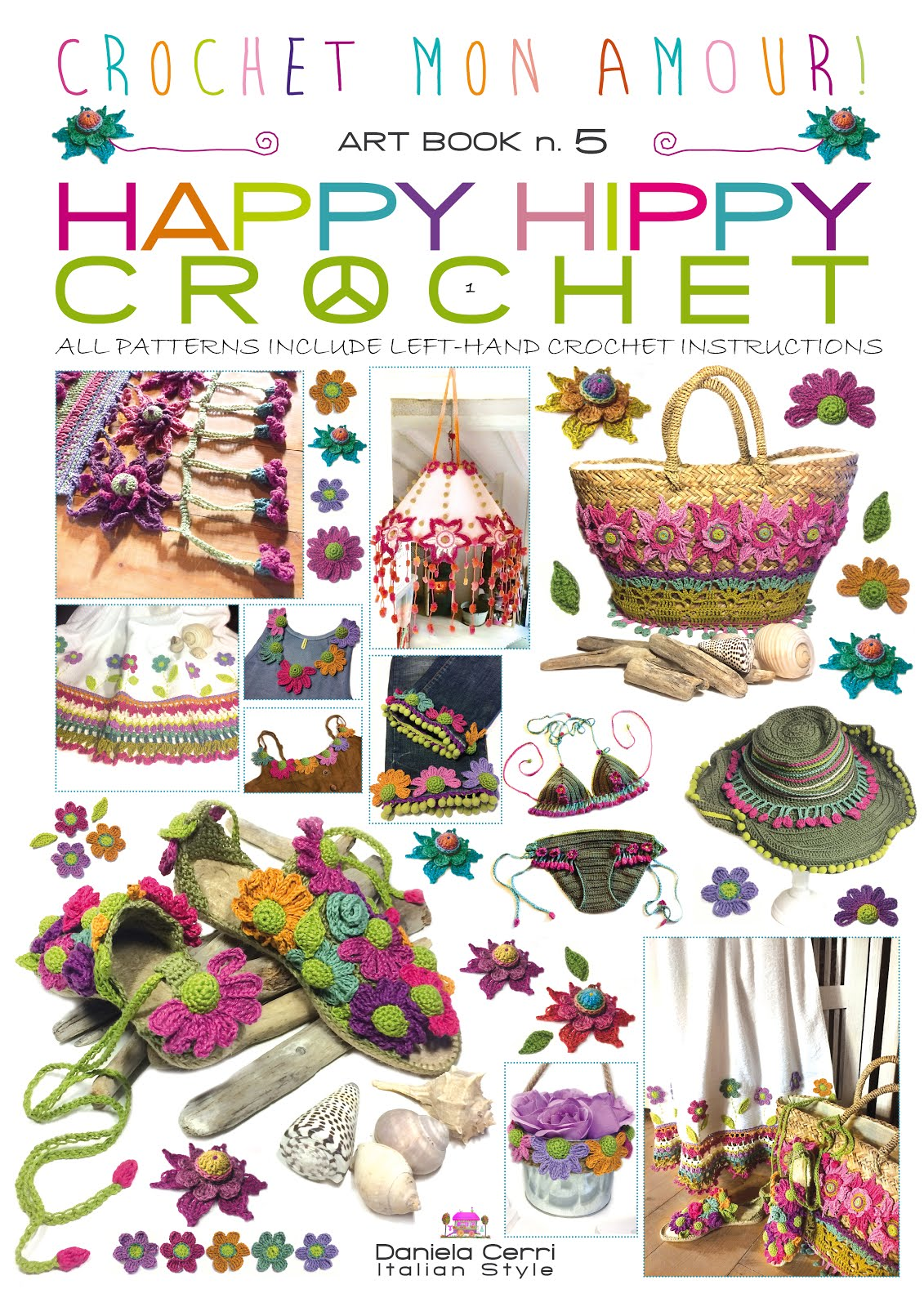 ART-BOOK n. 5: HAPPY HIPPY CROCHET in English