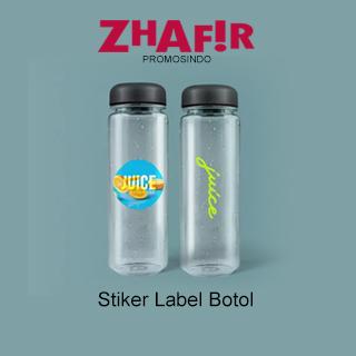 Cetak Stiker Label Botol
