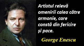 Maxima zilei: 19 august - George Enescu