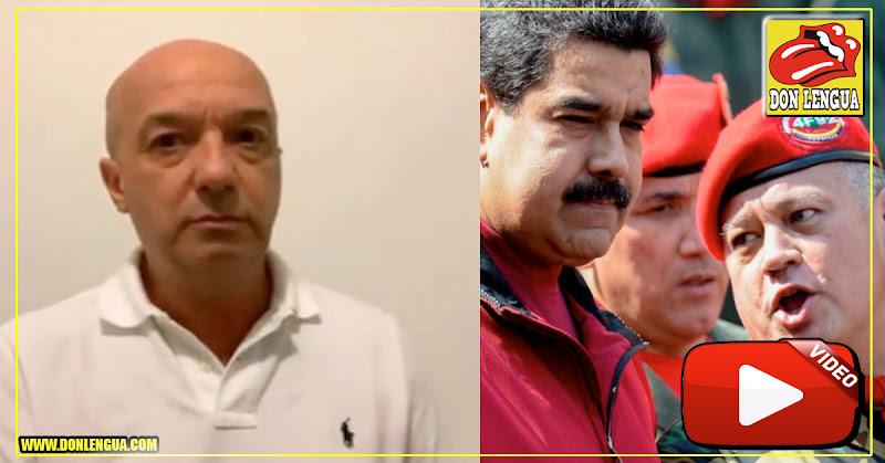 Iván Simonovis amenaza a Maduro y Diosdado y dice que está calentando el brazo
