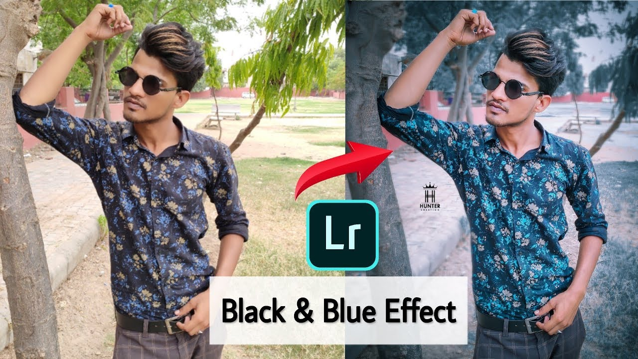 Lightroom Dark & Heaven Blue Effect Editing | Free Lightroom