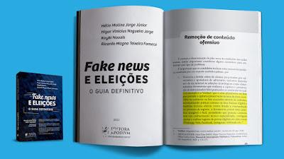 """Livro """"Fake News e Eleições – O Guia Definitivo"""" recomenda a Verifact Tecnologia. Café com Jornalista"""
