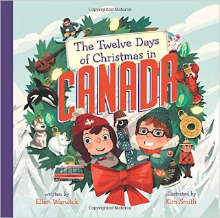 Ruminating Mommy 2015, The Twelve Days of Christmas in Canada book review