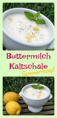 Sommerrezept: Zitronen-Buttermilch-Kaltschale
