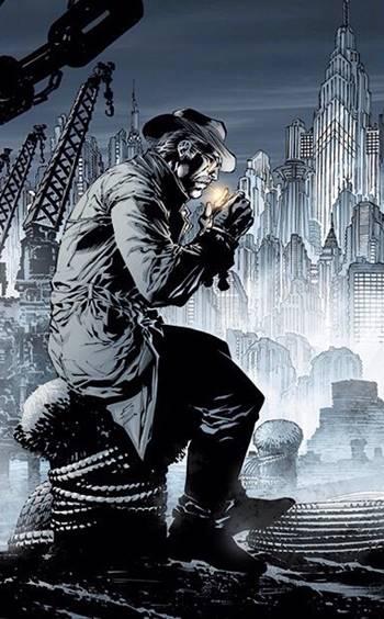 Gordon es aliado de Batman y Robin en la ciudad de Gotham