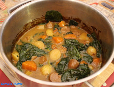 Carole's Chatter: Leftover sausage casserole