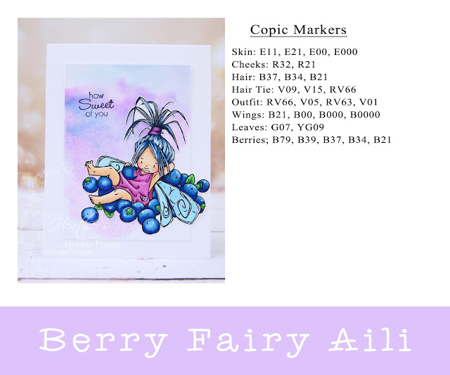Heather's Hobbie Haven - Berry Fairy Aili