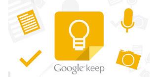 Aplikasi google keep
