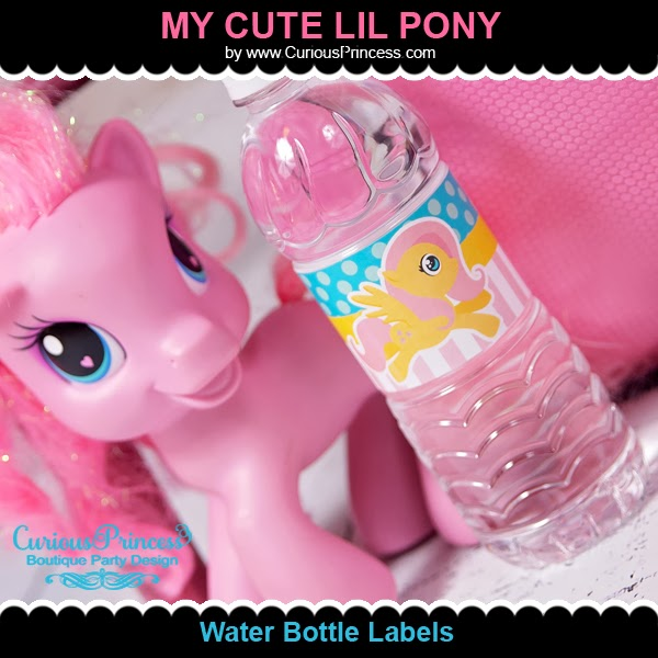 Curious Princess: My Cute Little Pony Birthday Party