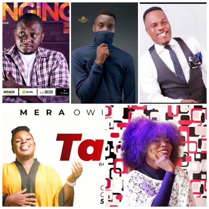 Bayelsa Top 5 Trending Gospel Artist For The Week | (See Who Rock The Number 1 Spot)
