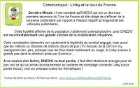 Enedis a été obligé de s'effacer de la caravane du tour de France