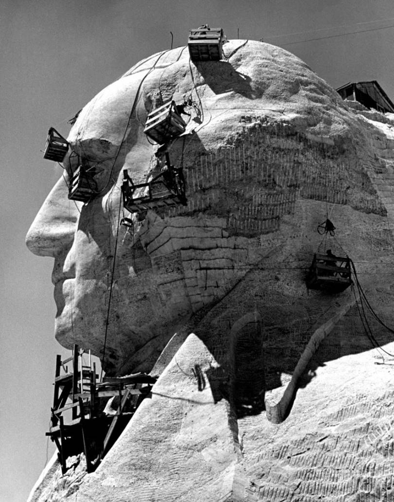 Sculpture by George Washington, circa 1941.