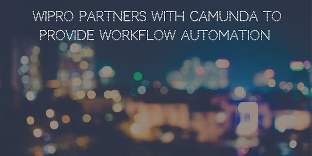 Wipro Partners with Camunda to provide Workflow Automation
