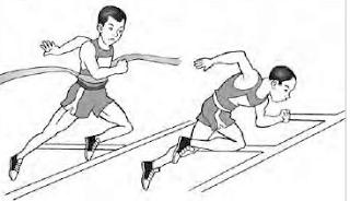 Lari terus tanpa mengubah kecepatan lari