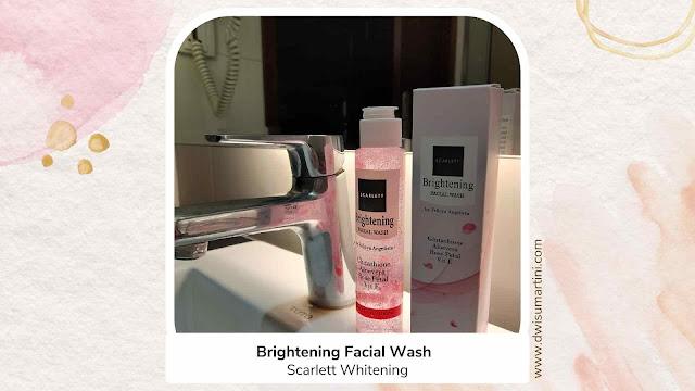 Brightening Facial Wash Scarlett Whitening