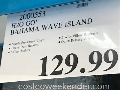 Deal for the H2O Go! Bahama Wave Island at Costco