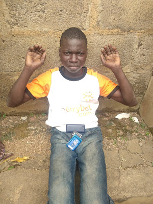 Man Caught Raping A 6-year-old Girl In An Uncompleted Building